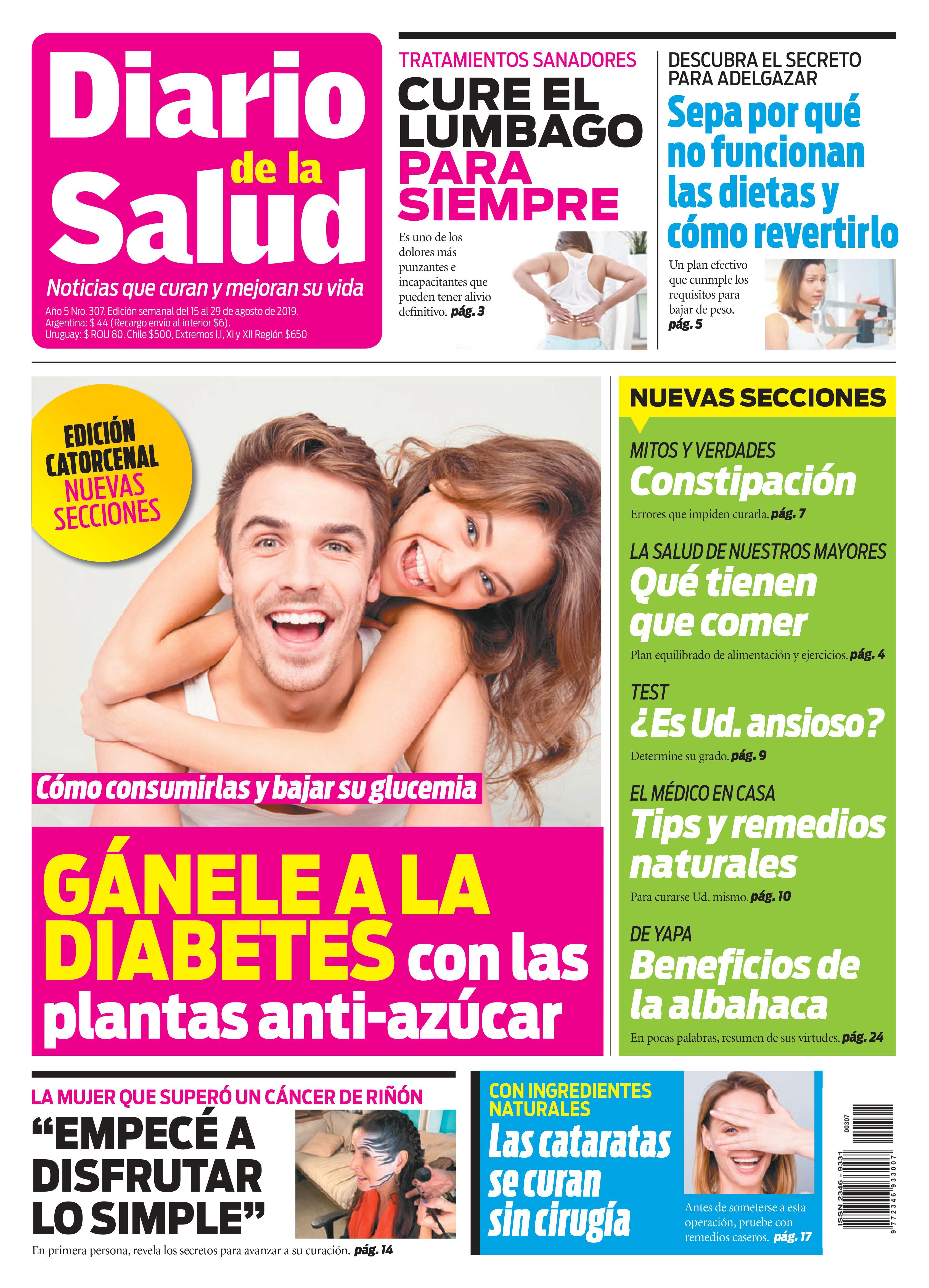 Tapa del Diario